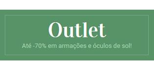 Outlet Óculos Homem