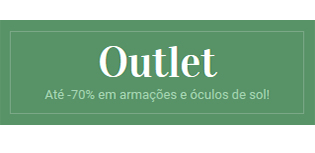Outlet Óculos Mulher