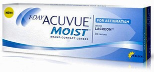 1-DAY ACUVUE MOIST for ASTIGMATISM (cx.30)